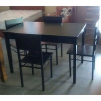 4 Chairs Mdf Dining Table
