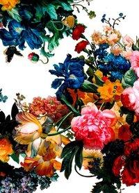 Pu Leather Flower Foil