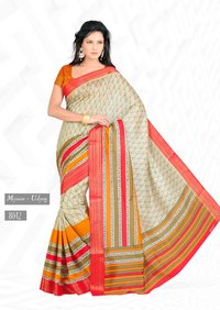 Jerry Design Jute Cotton Sarees