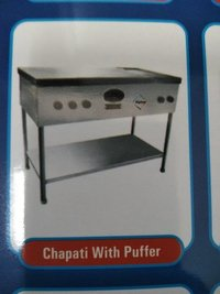 Chapati With Puffer Gas Stove
