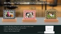 Photo Frame Wooden
