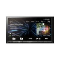 LCD AV Receiver