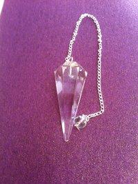 Crystal Quartz Pendulum