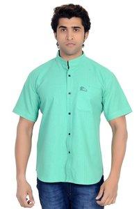 Khadi Chinese Collar Shirt