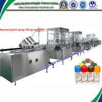 Automatic Aerosol Spray Paint Can Filling Machines