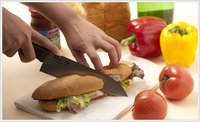 Titanium Hybrid Kitchen Knife
