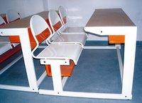 Bt Dd 30 (With Steel Seat) Premium Desk in Indore