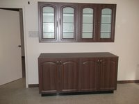 Wooden Crockery Unit
