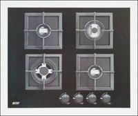 Ariane A-Series 4 Brass Burner Kitchen Hob For Indian Cooking