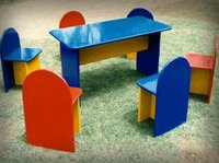 Play School Table With Chair in New Delhi