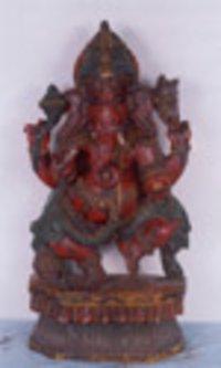 Lord Ganesh (dancing)- Handicraft (20 / BL-2)