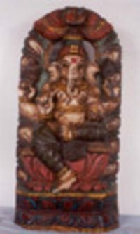Lord Prabha Ganesh (Sitting on Lotus) (21 / BL-3)