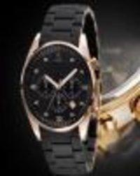 Black Color Wrist Men'S Watch