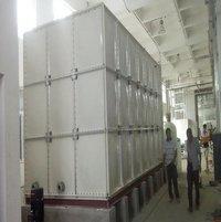 Frp Grp Smc Panel Sectional Water Storage Tanks