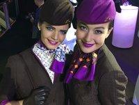 Designer Air Hostess Uniform