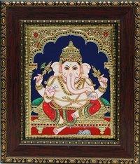 Tanjore Ganesha Paintings