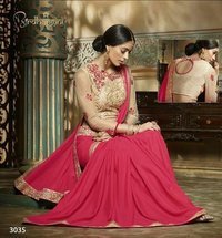 Fancy And Red Georgette Sarees