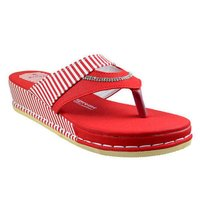 Ladies Cushioned Flat Sandals