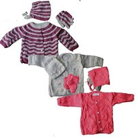 Baby Sweater Set For Infant Girl Boy