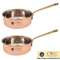 Steel Copper Set 1 Fry Pan With 1 Fry Pan