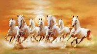 Vastu Specific Running Horse Painting