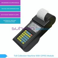Toll Collection Machine With Gprs