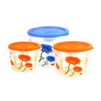 Reliable Plastic Containers Sets For Home Purpose