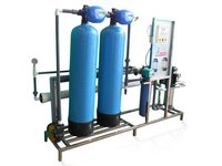 Commercial Water Filtration Plant
