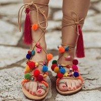 Greek Stylish Designer Ladies Beach Sandals