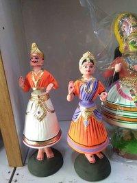 Tanjore Dancing Dolls