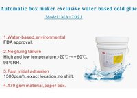 MA-7021 Cold Glue Water Based Fully Automatic Box Maker