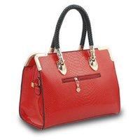 Ladies Designer Metal Frame Handbag