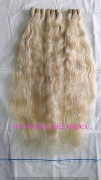 Exclusive White Human Hair