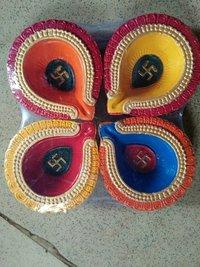 Handmade Clay Diya