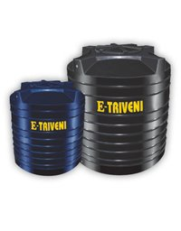 E-Triveni Cylindrical Vertical Water Storage Tanks