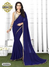 Ladies Zari Border Saree