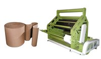 Oblique Type High Speed Single Facer Paper Corrugation Machine