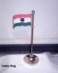 Metal Table Flag