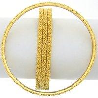 Ethnic Gold Bangles