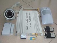 Gsm Home Alarm System With Photo-Taking
