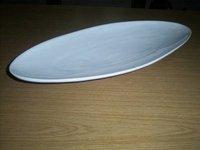 Ceramic Boat Shape Platter