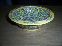 Designer Pottery Salad Bowl