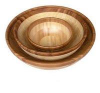 Bamboo Salad Bowl