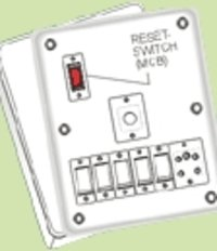 Electrical Flush Switch Board