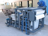 Sludge Dewatering Machine