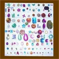 Rainbow Acrylic Beads