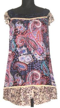 Tabi Silk Printed Short Dress