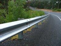 W Beam Crash Barriers