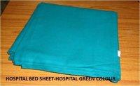 Hospital Bed Sheet- Hospital Green Colour