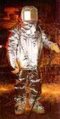 Aluminised Fire Proximity Suits